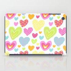 spring hearts iPad Case
