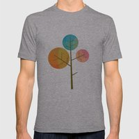 Tree Mens Fitted Tee Athletic Grey SMALL