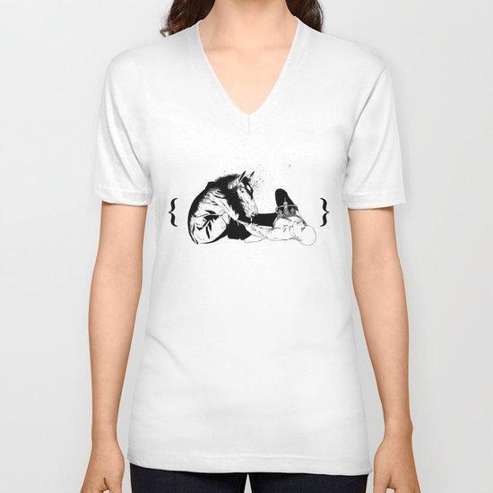 checkmate V-neck T-shirt