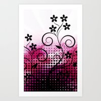VECTOR PINK VECTOR PINK Art Print