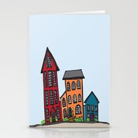 TownHouses Stationery Cards