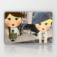 The illustrated ego-bloggers Laptop & iPad Skin