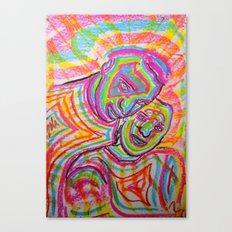 Let Our Love Flow Canvas Print