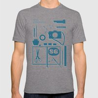 S6 Tee Mens Fitted Tee Tri-Grey SMALL