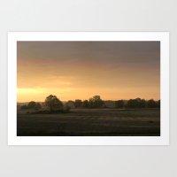 Sunrise in August Art Print