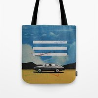 W. Rong | Collage Tote Bag