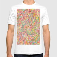 :s Mens Fitted Tee White SMALL