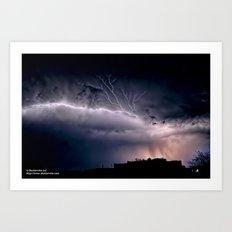 Under a Torn Sky Art Print