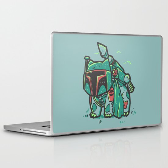 BulbaFett Laptop & iPad Skin