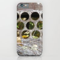 iPhone & iPod Case featuring circles by redlinedesign®