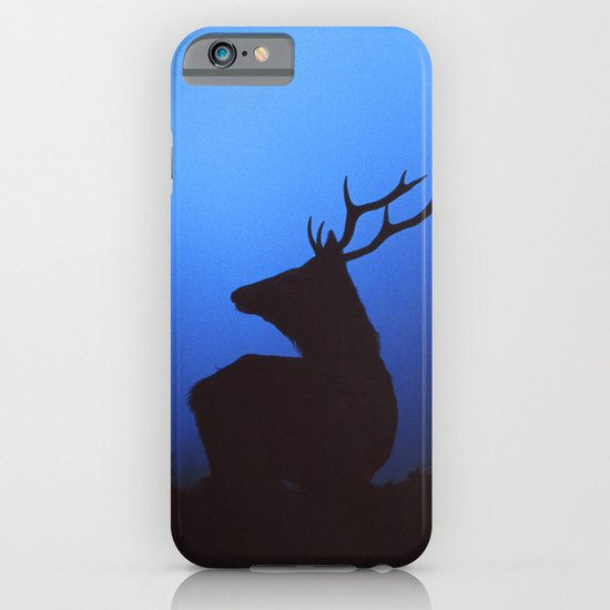 RED DEER AT DAWN iPhone & iPod Case