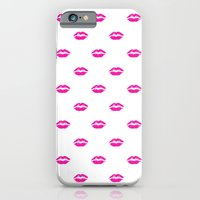 Pink Lipstick iPhone 6 Slim Case
