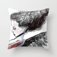 The Heart Theif Throw Pillow