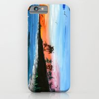 "iPhone & iPod Case featuring ""PEACEFUL LIVING""  by Sababa Surf"