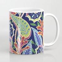 Oak Paisley - navy Mug