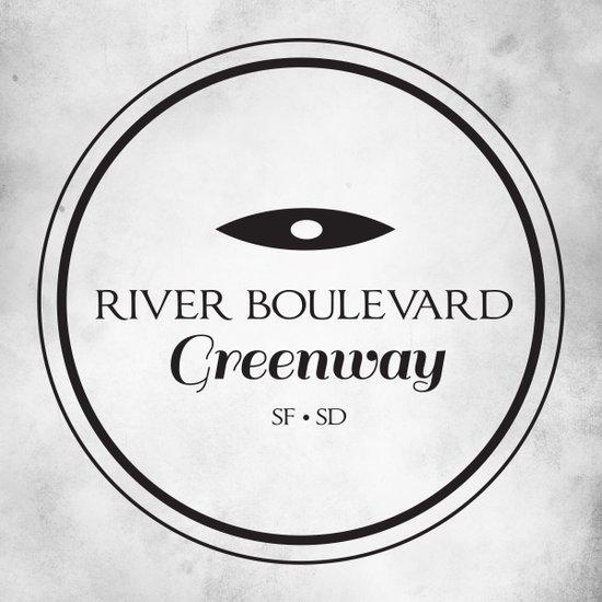 River Boulevard Greenway Art Print