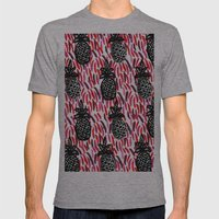 Weird Pineapples II Mens Fitted Tee Athletic Grey SMALL