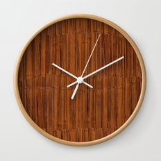 Bamboo III Wall Clock