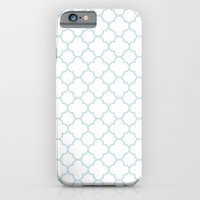 iPhone & iPod Case featuring MOROCCAN {LIGHT BLUE} by natalie sales