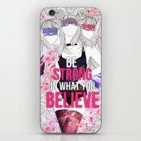 Born This Way - Be Stron… iPhone & iPod Skin