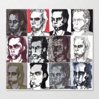 Nick Cave Galore Canvas Print