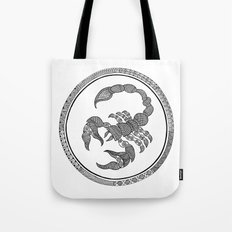 Zodiac Sign Scorpio Tote Bag
