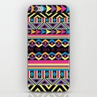 For The Love Of Pattern. iPhone & iPod Skin