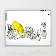 yellow dog Laptop & iPad Skin