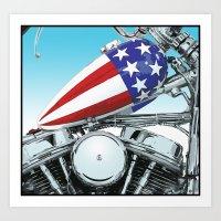 American Chopper Art Print