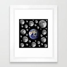 Oh Moons Framed Art Print
