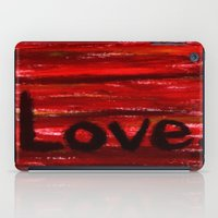 LOVE By KPD (Stretched) iPad Case