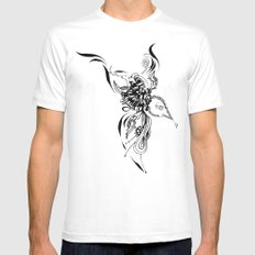 Bird Mens Fitted Tee SMALL White