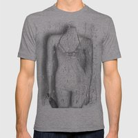 Even plastic can be lonely  ♥ Mens Fitted Tee Athletic Grey SMALL