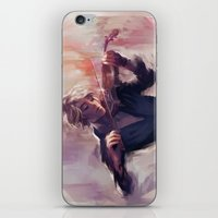 Violin and James Carstairs iPhone & iPod Skin