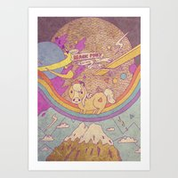 MAGIC SPACE PONY Art Print