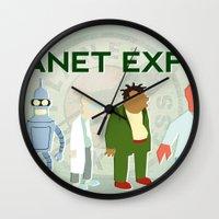 Planet Express Wall Clock