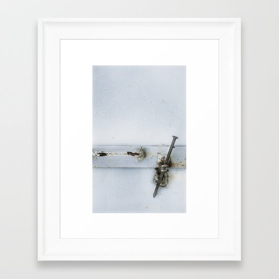 closed#02 Framed Art Print