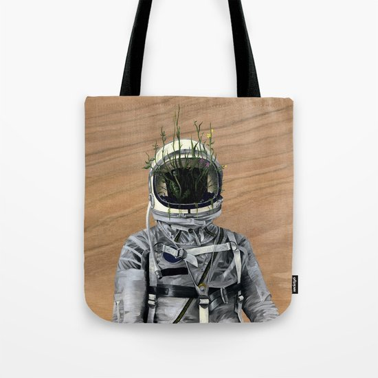 Cacti   Spaceman No:1 Tote Bag