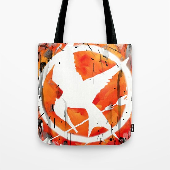 The Mockingjay Tote Bag