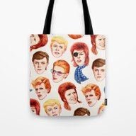 Tote Bag featuring David by Helen Green