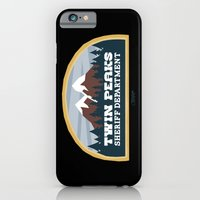 iPhone & iPod Case featuring Twin Peaks Sheriff Department (Redux) by Gimetzco's Damaged Goods
