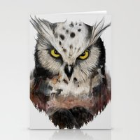 The Owls Are Not What T… Stationery Cards