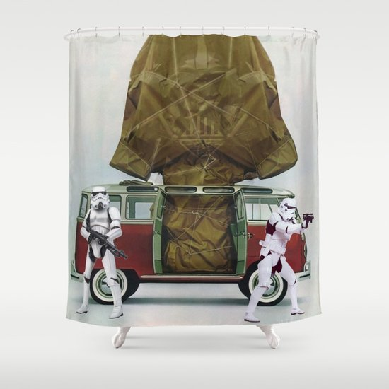Vader Wrap Shower Curtain