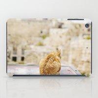 Cat Overlooking Ancient … iPad Case