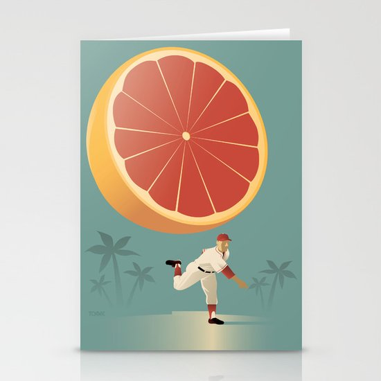 Grapefruit League Stationery Card