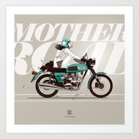 The Mother Road Art Print