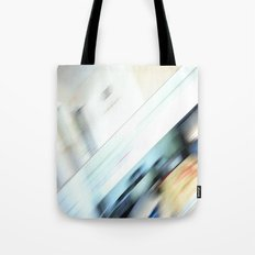 Life is a blight  in an office closed tight. Tote Bag