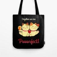 Puuurfect Tote Bag
