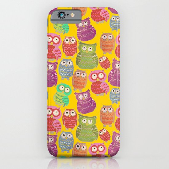 Bright Owls iPhone & iPod Case