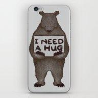 I Need A Hug iPhone & iPod Skin